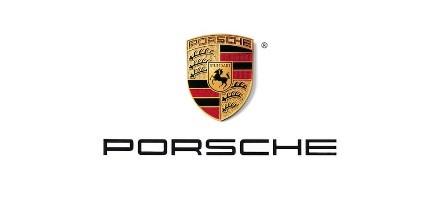gebruikte auto's Porsche logo